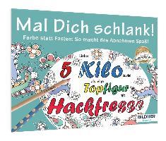Cover-Bild zu Malbuch für Erwachsene: Mal dich schlank!