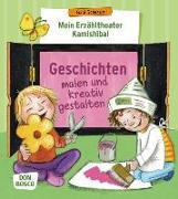 Cover-Bild zu Mein Erzähltheater Kamishibai: Geschichten malen und kreativ gestalten von Scherzer, Gabi
