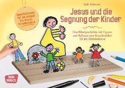 Cover-Bild zu Jesus und die Segnung der Kinder von Scherzer, Gabi