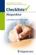 Cover-Bild zu Checkliste Akupunktur von Velling, Peter