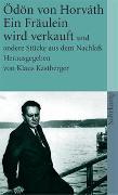 Cover-Bild zu Horváth, Ödön von: Gesammelte Werke. Kommentierte Werkausgabe