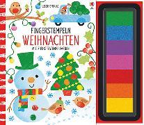 Cover-Bild zu Fingerstempeln: Weihnachten von Watt, Fiona