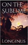 Cover-Bild zu eBook On the Sublime
