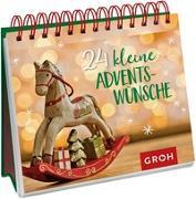 Cover-Bild zu 24 kleine Adventswünsche von Groh Redaktionsteam (Hrsg.)
