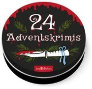 Cover-Bild zu Dose groß 24 Adventskrimis von Solowski, Marion