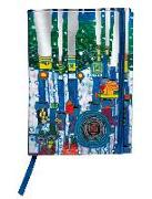 Cover-Bild zu Hundertwasser Agenda 2020 (Blue Blues)