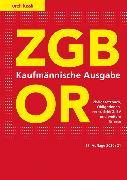 Cover-Bild zu ZGB/OR Kaufmännische Ausgabe von Schneiter, Ernst J.