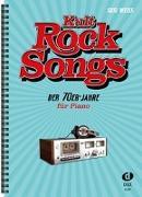 Cover-Bild zu Kult-Rocksongs der 70er-Jahre von Weiss, Susi (Komponist)