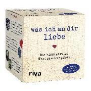 Cover-Bild zu Was ich an dir liebe - Die einzigartige Überraschungsbox von riva Verlag