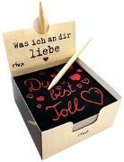 Cover-Bild zu Was ich an dir liebe - Der Kratzblock für liebevolle Botschaften