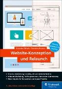Cover-Bild zu Website-Konzeption und Relaunch (eBook) von Erlhofer, Sebastian