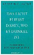 Cover-Bild zu Das Licht fliesst dahin, wo es dunkel ist (eBook) von Chavent, Kerstin