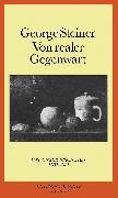 Cover-Bild zu Von realer Gegenwart von Steiner, George