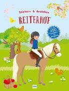 Cover-Bild zu Reiterhof (Anziehpuppen, Anziehpuppen-Sticker) von Gruber, Denitza (Illustr.)
