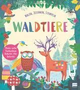 Cover-Bild zu Waldtiere (Malbuch und Zeichenbuch für Kinder) von Peto, Violet
