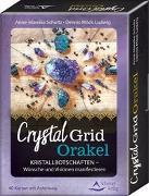 Cover-Bild zu Crystal-Grid-Orakel - Kristallbotschaften - Wünsche und Visionen manifestieren von Schultz, Anne-Mareike