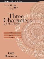 Cover-Bild zu Three Characters: The Collaborative Artist von Faber, Randall (Komponist)