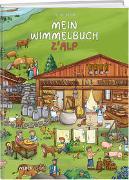 Cover-Bild zu Mein Wimmelbuch z'Alp von Geser, Celine