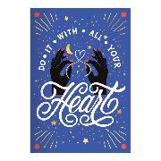 Cover-Bild zu Galison (Geschaffen): Do It With All Your Heart A5 Undated Planner