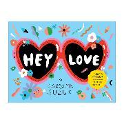Cover-Bild zu Galison (Geschaffen): Hey Love Shaped Notecard Portfolio