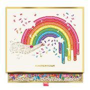 Cover-Bild zu Galison (Geschaffen): Jonathan Adler Rainbow Hand 750 Piece Shaped Puzzle