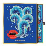 Cover-Bild zu Galison (Geschaffen): Jonathan Adler 750 Piece Lips Shaped Puzzle