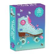 Cover-Bild zu Galison (Geschaffen): Let The Good Times Roll: 100 Piece Mini Shaped Puzzle