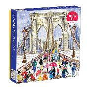Cover-Bild zu Galison (Geschaffen): Michael Storrings Brooklyn Bridge 1000 Piece Puzzle