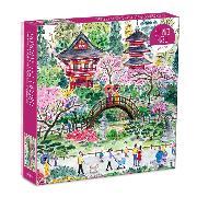 Cover-Bild zu Galison (Geschaffen): Michael Storrings Japanese Tea Garden 300 Piece Puzzle