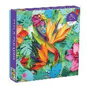 Cover-Bild zu Galison (Geschaffen): Paper Paradise 500 Piece Puzzle