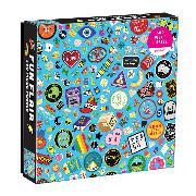 Cover-Bild zu Galison (Geschaffen): Fun Flair 500 Piece Puzzle