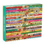 Cover-Bild zu Galison (Geschaffen): Phat Dog Vintage Pencils 1000 Piece Foil Stamped Puzzle