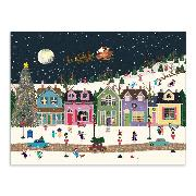 Cover-Bild zu Galison (Geschaffen): Winter Wonderland Large Embellished Notecards