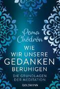 Cover-Bild zu Wie wir unsere Gedanken beruhigen von Chödrön, Pema
