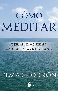 Cover-Bild zu Cómo meditar (eBook) von Chödrön, Pema