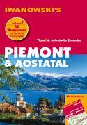 Cover-Bild zu Piemont & Aostatal - Reiseführer von Iwanowski von Gruber, Sabine