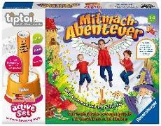Cover-Bild zu tiptoi® active Set Mitmach-Abenteuer