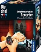 Cover-Bild zu Die drei ??? Geheimnachrichten-Recorder