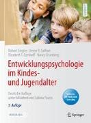 Cover-Bild zu Entwicklungspsychologie im Kindes- und Jugendalter von Siegler, Robert