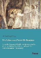 Cover-Bild zu Die Lehre von Christi Höllenfahrt von König, Joh. Ludwig