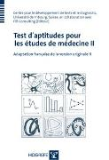 Cover-Bild zu Test d`aptitudes pour les études de medicine II von Consulting, ITB (Hrsg.)