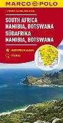 Cover-Bild zu MARCO POLO Kontinentalkarte Südafrika, Namibia, Botswana 1:2 000 000. 1:2'000'000