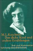 Cover-Bild zu Kaschnitz, Marie Luise: Das dicke Kind und andere Erzählungen
