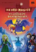 Cover-Bild zu Die drei Magier - Das gestohlene Drachenfeuer (eBook) von Bornstädt, Matthias von