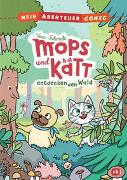 Cover-Bild zu Mein Abenteuercomic - Mops und Kätt entdecken den Wald von Schmidt, Vera