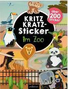 Cover-Bild zu Kritzkratz-Sticker Im Zoo von Schindler, Eva (Gestaltet)