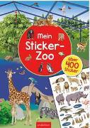 Cover-Bild zu Mein Sticker-Zoo von Bräuer, Ingrid (Illustr.)
