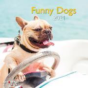 Cover-Bild zu Funny Dogs 2021 A&I INT 30x30