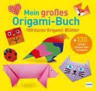 Cover-Bild zu Mein großes Origami-Buch (mit kindgerechten Schritt-für-Schritt Anleitungen, 100 Blatt und 130 Stickern))