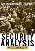 Cover-Bild zu Security Analysis: The Classic 1940 Edition von Graham, Benjamin